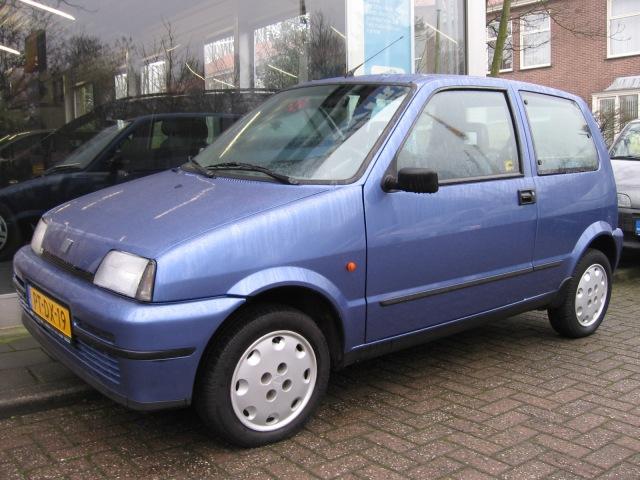 FIAT CINQUECENTO 900 sx Autohuis Ede van Wirdum B.V., Ede