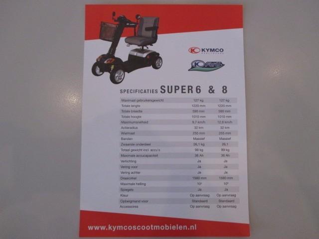 OVERIGE OVERIG Scootmobiel Kymco Super 6 Auto ter Riet BV, 7535 CE Enschede