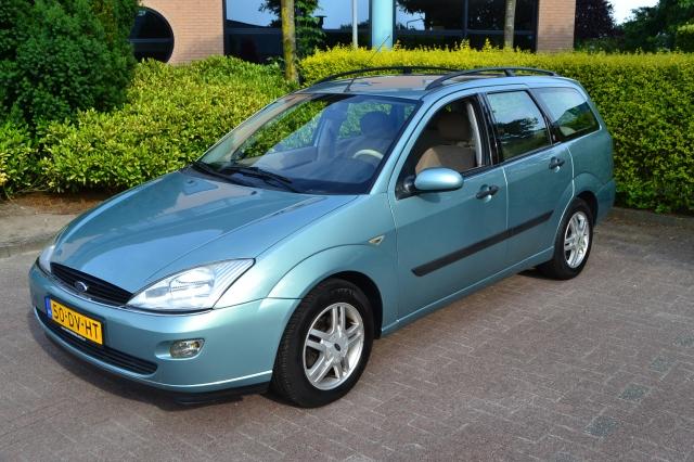 FORD FOCUS Focus Wagon 1.6i 16V Ghia Airco/Automaat Autocentrum van de Ven, Almelo