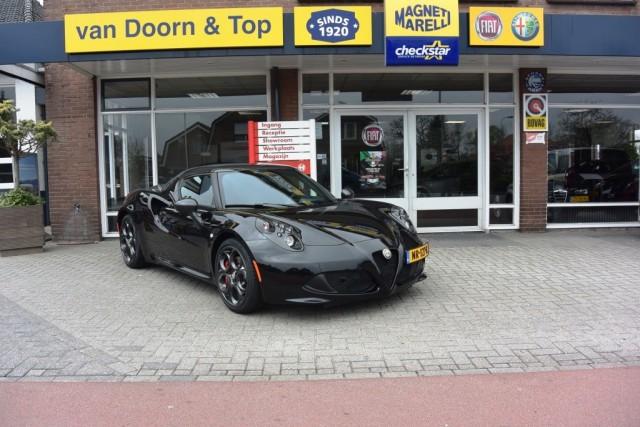 ALFA ROMEO 4C 1.750 TBI Track Editcion 09/20 Van Doorn en Top, Nijkerkerveen