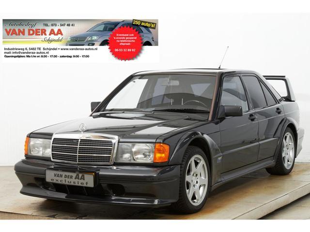 MERCEDES-BENZ 190 190E 2.5-16 EVO II Gelimiteerde No;365 Beleggings-Object!!Bovag Autobedrijf van der Aa, SCHIJNDEL