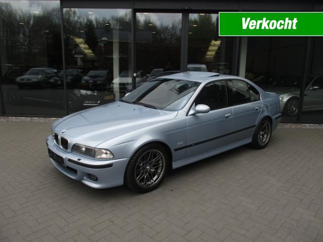 BMW M5 M5 , handgeschakeld ,Uniek Mooi ,A1 conditie , Nieuwstaat Autobedrijf W. Verstappen, Uden