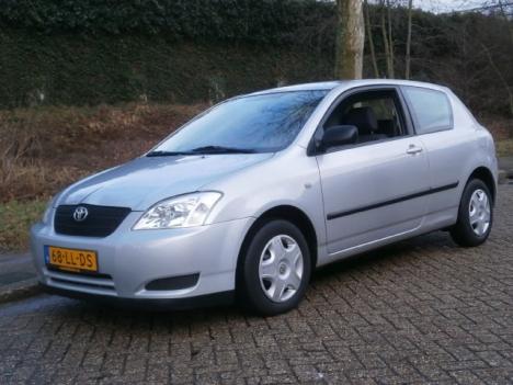 Toyota Corolla - 1.4 16v VVT-i LUNA-SOL, DONDERDAG KOOPAVOND TOT 20:00