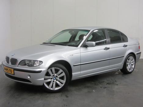 BMW 3-serie - 316i Black & Silverline