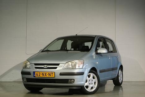 Hyundai Getz - 1.3i GLS CHIC 91.000km! *Airco/Lm-velgen
