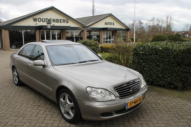 MERCEDES-BENZ S-KLASSE S 500 4MATIC LANG Woudenberg Auto's, Nijkerkerveen