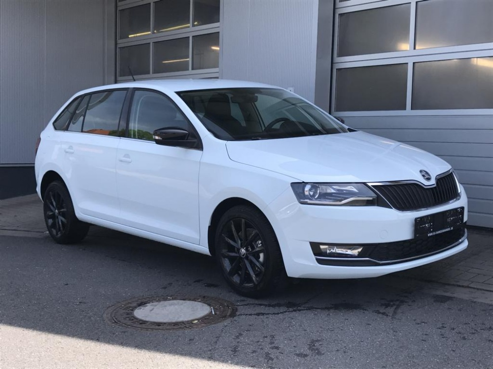 SKODA RAPID Spaceback 1,0 TSI Style 70KW 2018 Euro 6 S/S Autosoft BV, Enschede