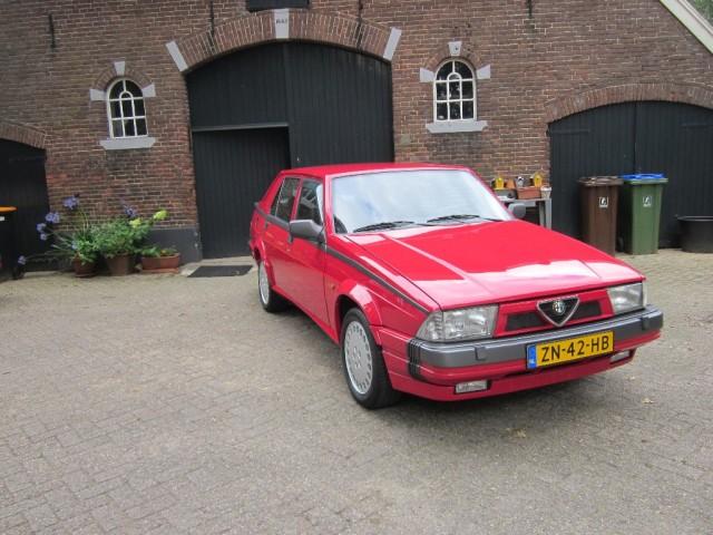 Alfa Romeo 75 - 3.0 V6 Qv Originele Nederlandse 75 Qv
