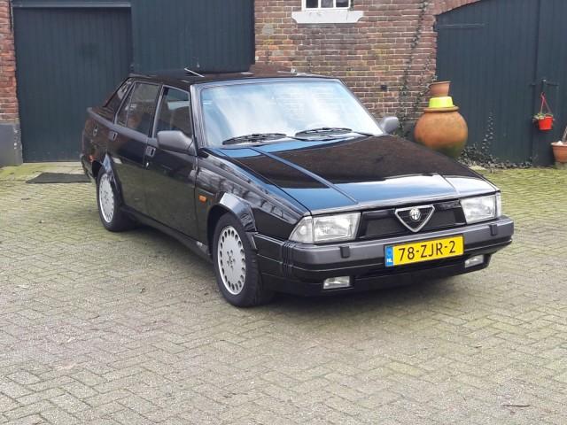 ALFA ROMEO 75 3.0 V6 america Auto Heida, 6721 NB BENNEKOM