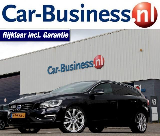 VOLVO V60 D5 AWD Hybrid R-design Aut. + Xenon + Navi + Leder + Lmv Car-Business, 4941 SE Raamsdonksveer