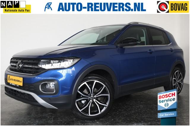 VOLKSWAGEN T-CROSS 1.0 TSI 110pk Style LED / Navigatie / Half Leder / ACC / Lane As, Auto Reuvers, Losser