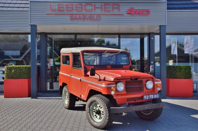 NISSAN PATROL 4.0 L60 SOFT TOP MARGE Lesscher 4WD, Saasveld