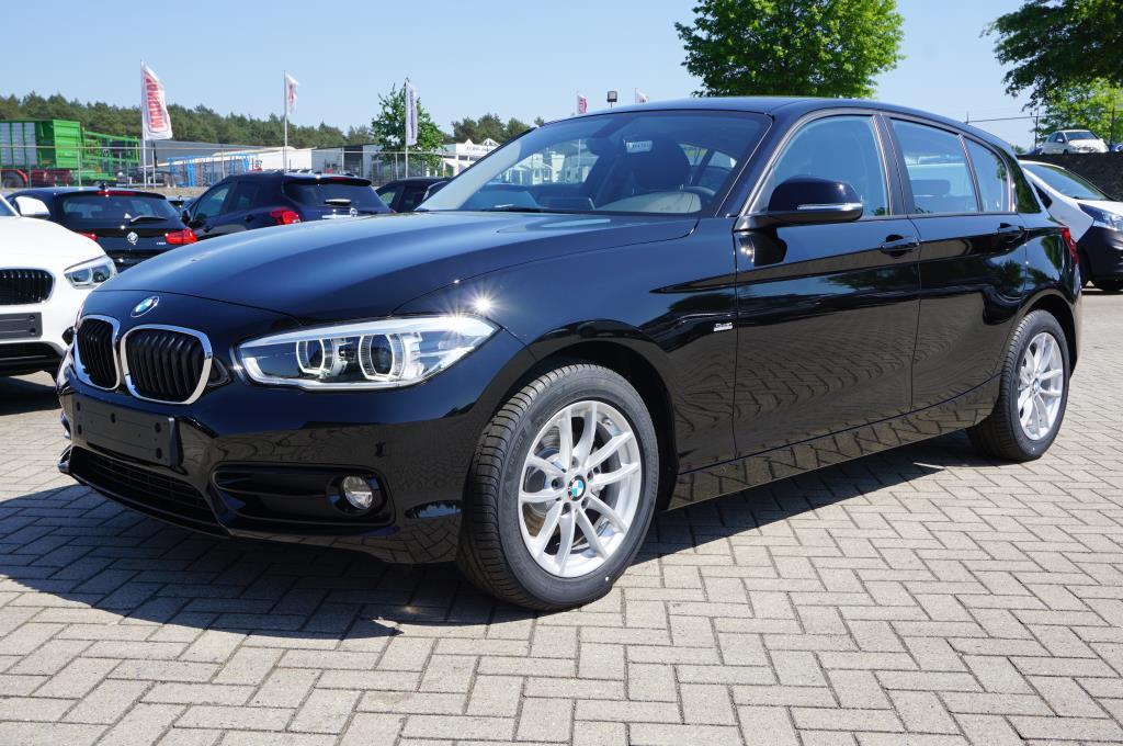 BMW 1-SERIE 118i 136PS Automatik Sportline 5-türig Navi Klimaautomatik Voll- Autosoft BV, Enschede