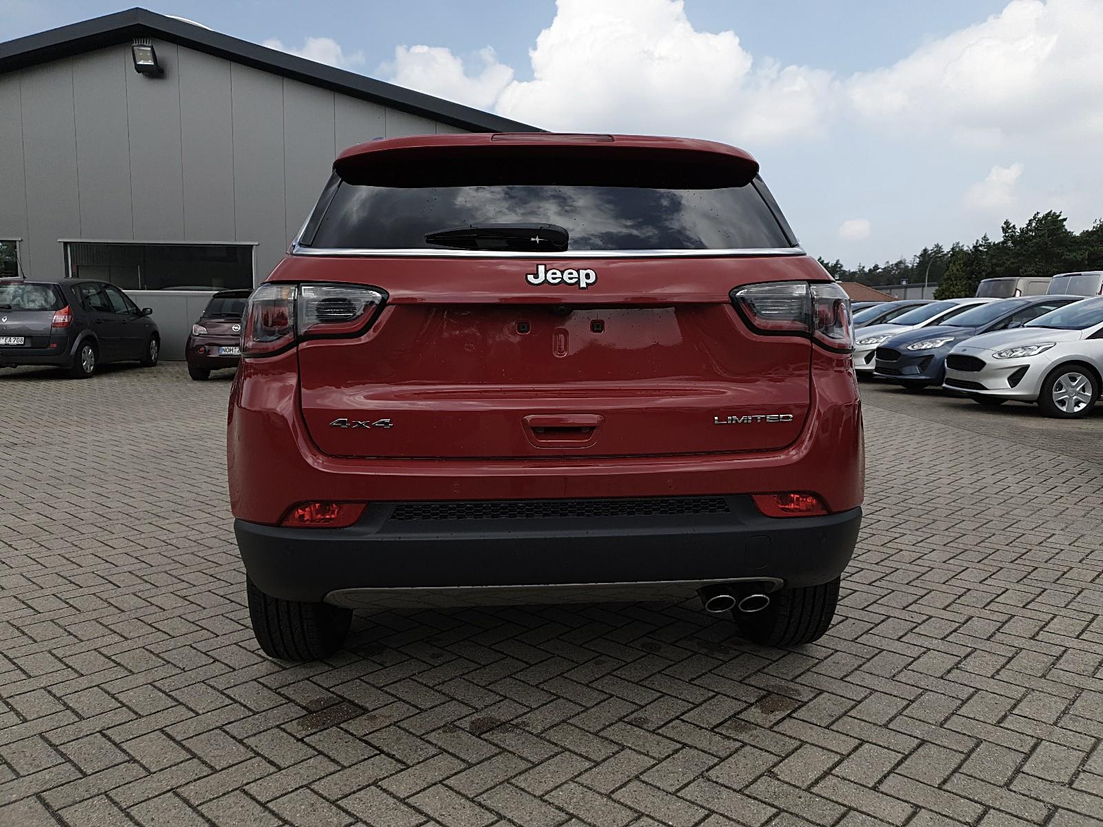 JEEP COMPASS 1.4 170PS 4x4 Automatik Limited Voll-Leder Sitzheizung Lenkradhe Viscaal Fahrzeuggrosshandel GmbH, D-49847 Itterbeck