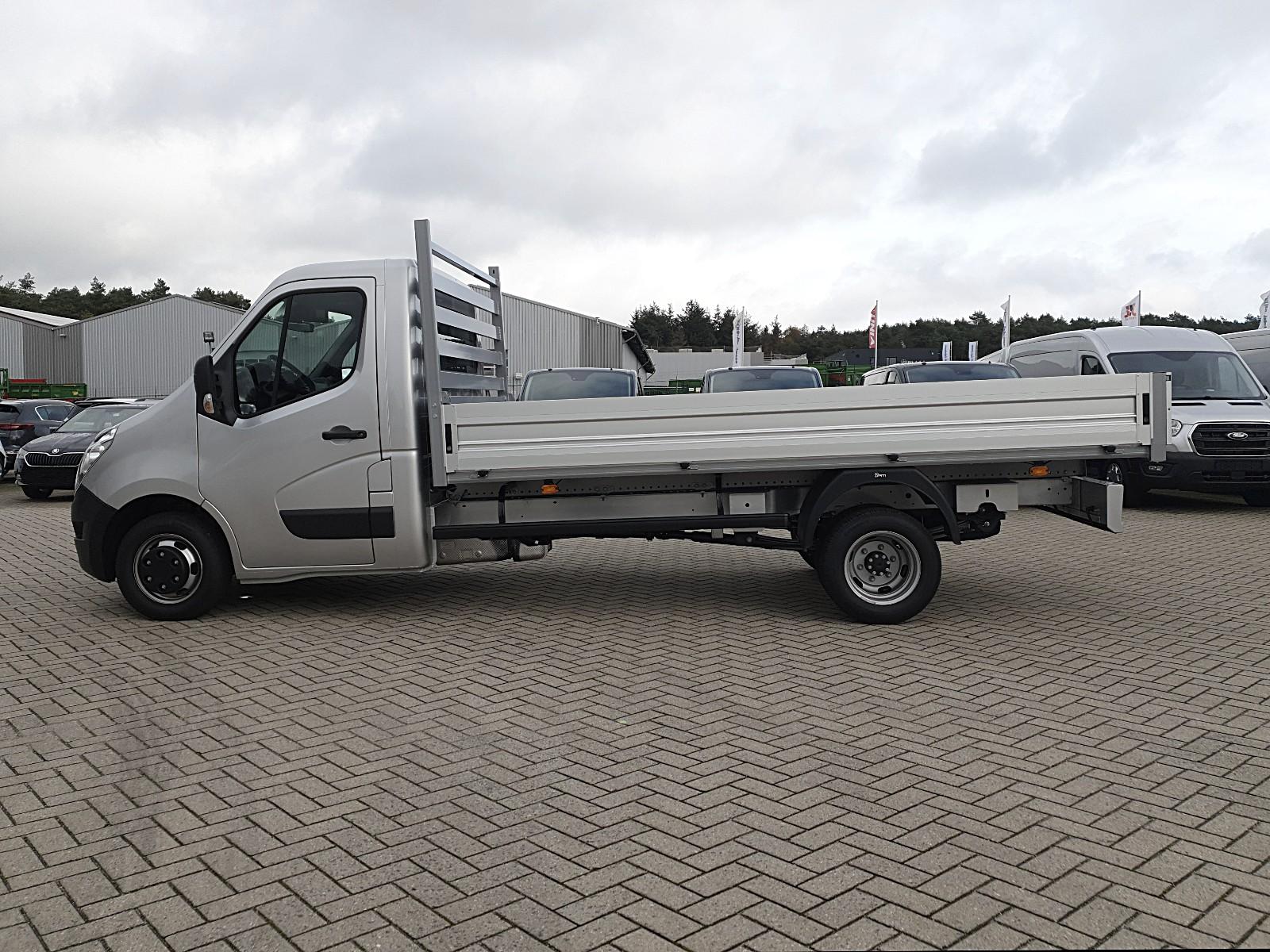 RENAULT MASTER Pritsche 2.3 dCi 163PS L4H1 4,5t 3-Sitzer Klimaautomatik Navi Si Viscaal Fahrzeuggrosshandel GmbH, D-49847 Itterbeck