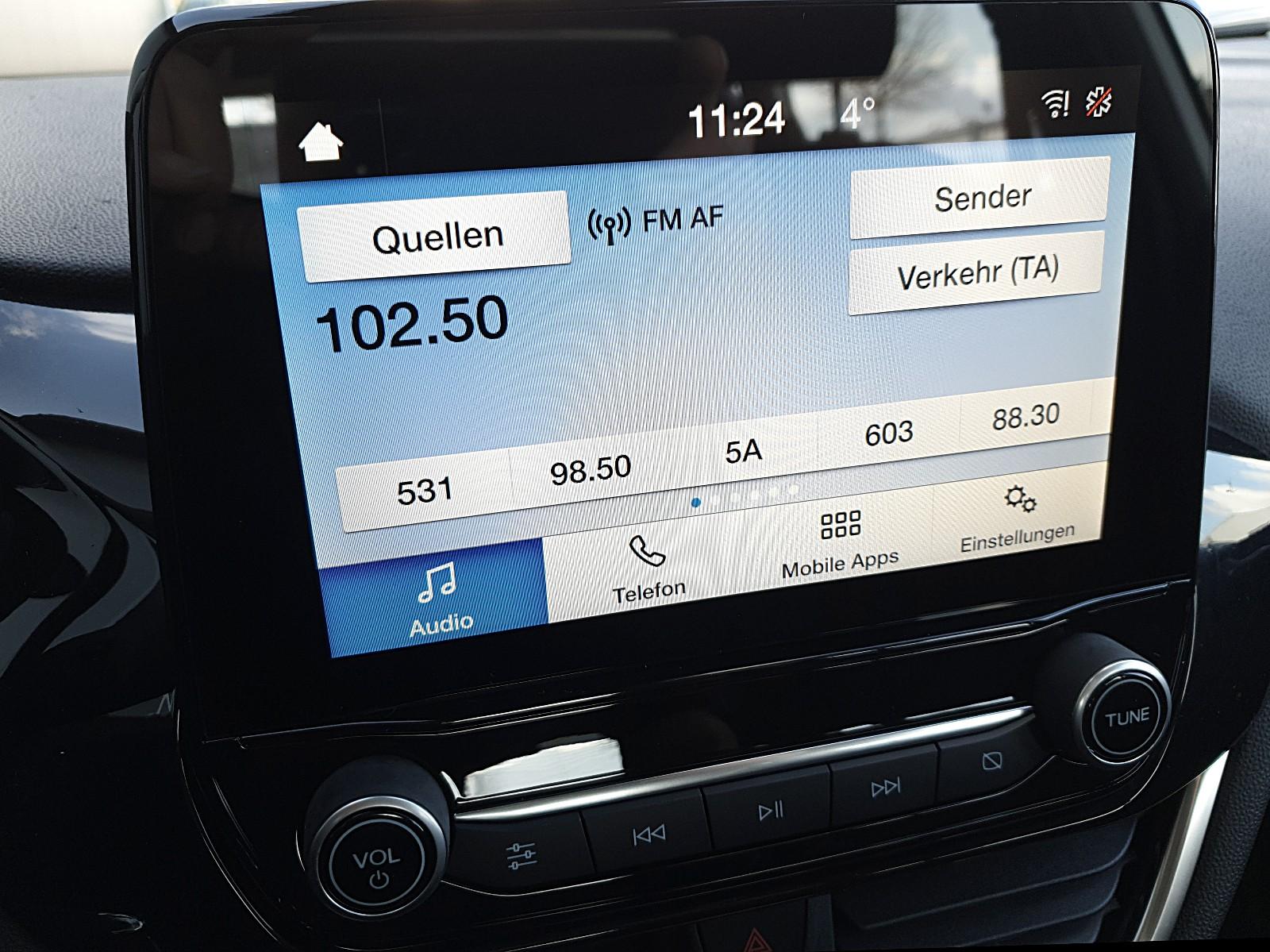 FORD FIESTA 1.1 85PS Trend 5-Türig Klima Bluetooth PDC DAB+ Allwetterreifen Viscaal Fahrzeuggrosshandel GmbH, D-49847 Itterbeck