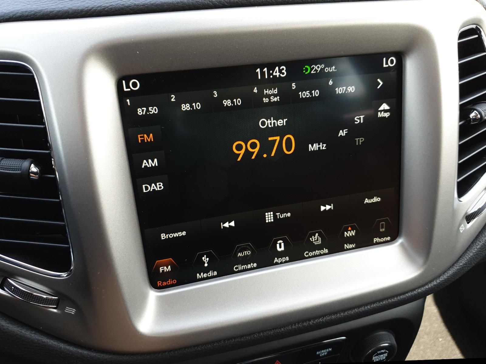JEEP COMPASS 1.4 MultiAir 140PS Longitude Klimaautomatik Navi Kamera Keyless Viscaal Fahrzeuggrosshandel GmbH, D-49847 Itterbeck