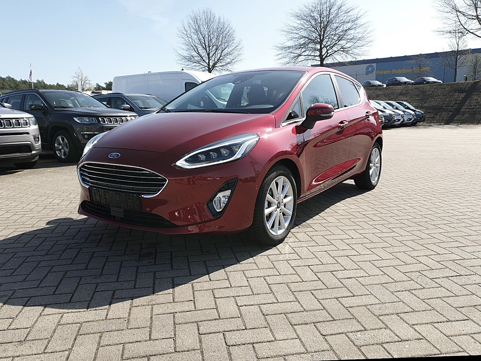 FORD FIESTA 1.0 100PS Ecoboost Automatik Titanium 5-Türig Voll-LED Klimaauto Autosoft BV, Enschede