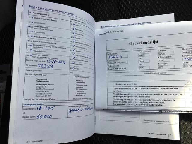 VOLKSWAGEN TIGUAN 1.4 TSI 160pk  R-Line Edition Nov. 2012 Carcenter Veldhoven, 5502 JB Veldhoven