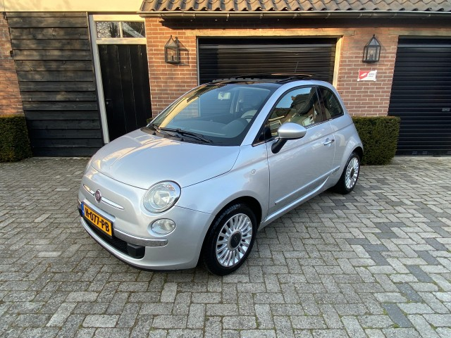 FIAT 500 Lounge Panarama schuifdak Carcenter Veldhoven, Veldhoven