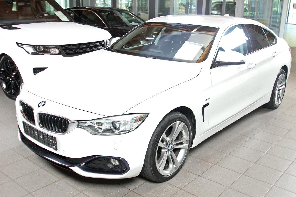 BMW 4-SERIE 420d xDrive Gran Coupe Sportline, Automatik, Navi, Xenon, 1. Han Autosoft BV, Enschede