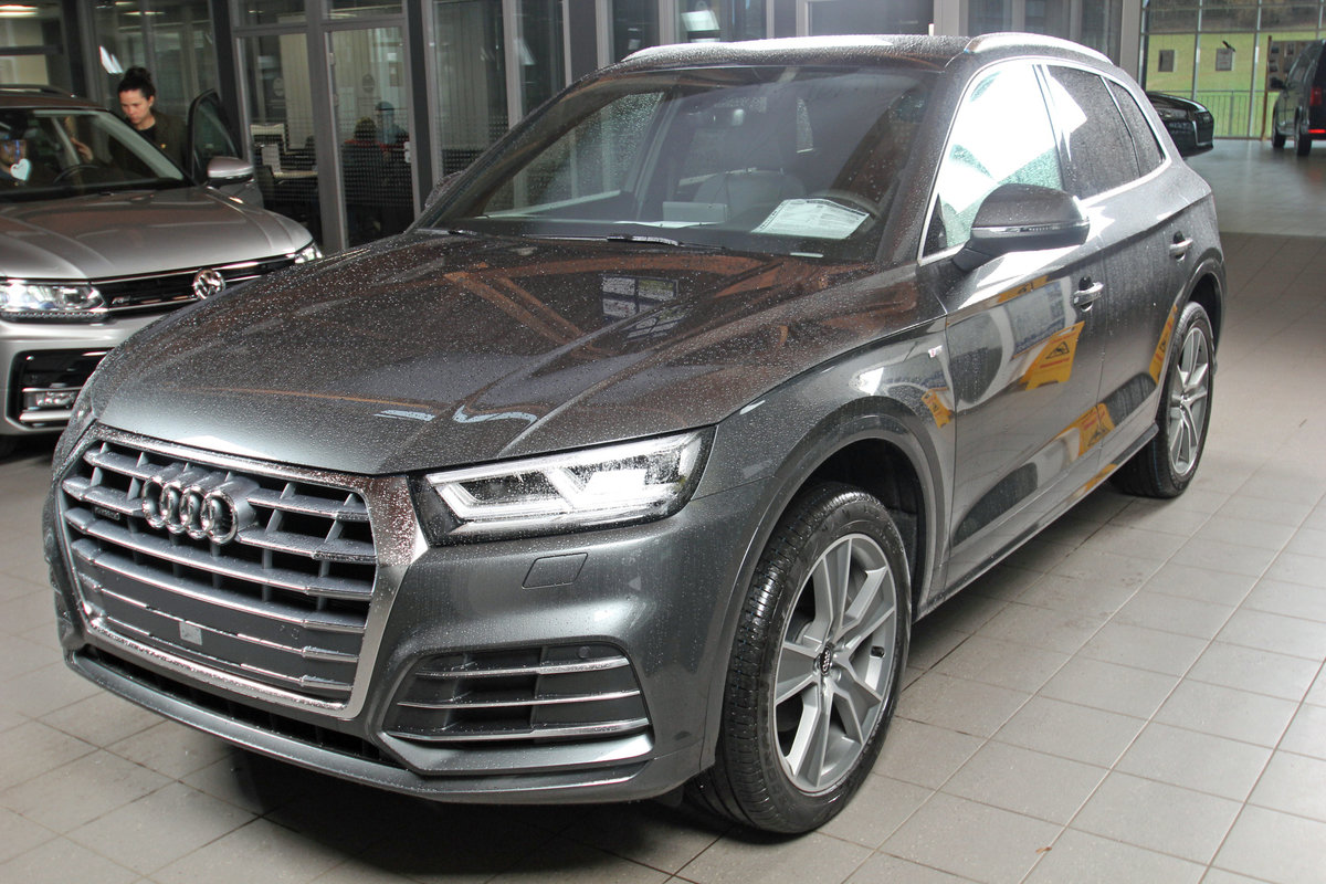 AUDI Q5 40 TDI quattro S-Tronic Sport, 2x-SLINE, virtual, 20-Zoll, sofor Autosoft BV, Enschede