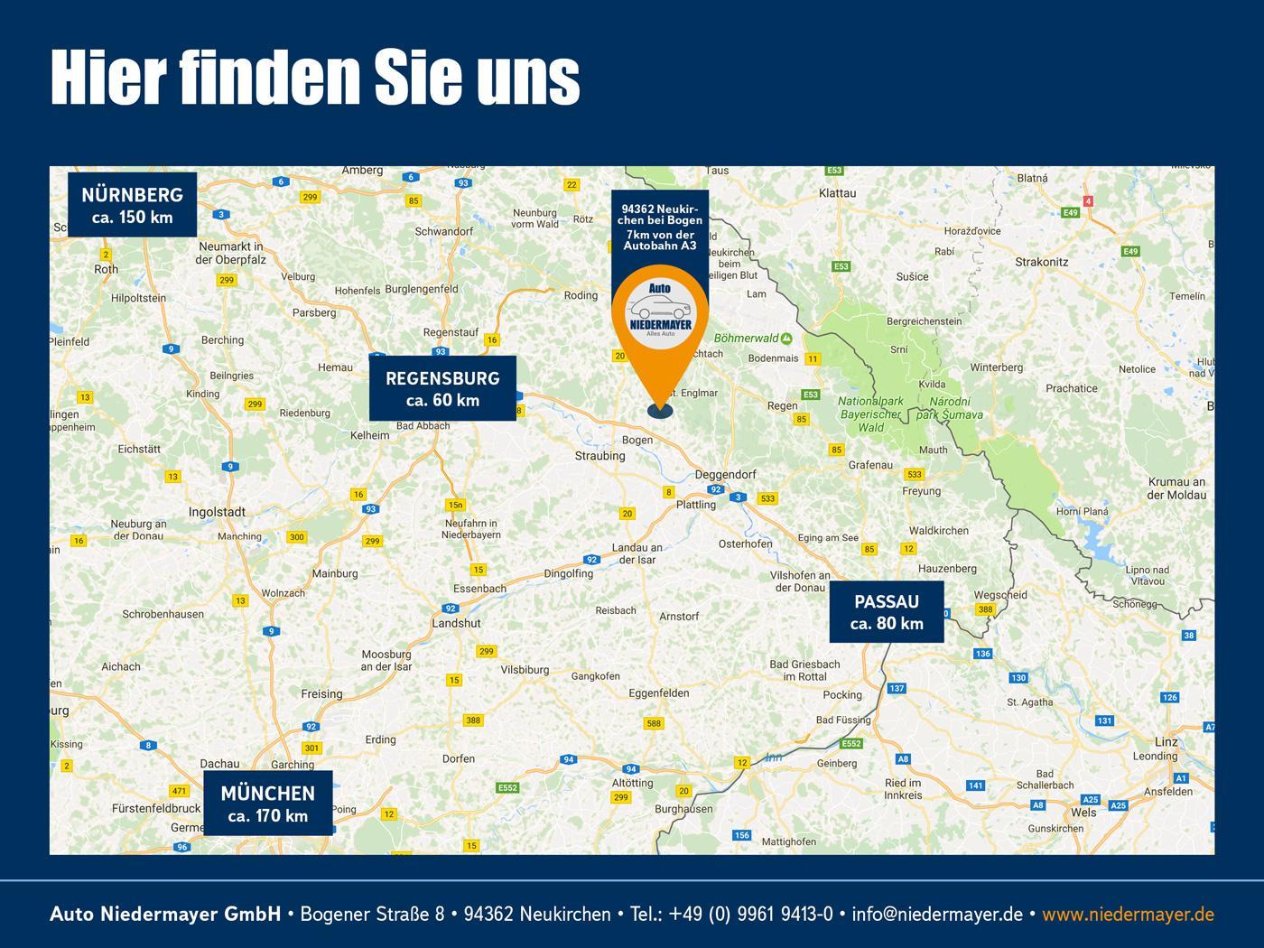 SKODA KODIAQ 2.0 TDI DSG 4x4 Sportline, AHK, 7-Sitzer, ACC, virtual, Kamera Auto Niedermayer B2B, D-94362 Neukirchen
