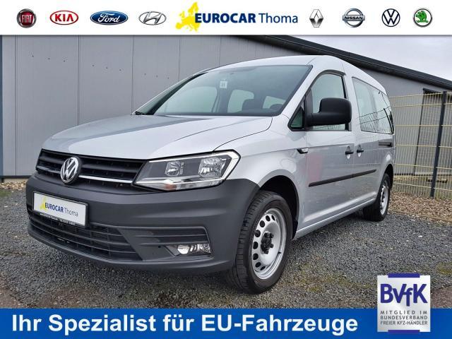 VOLKSWAGEN CADDY MAXI Kombi 2.0 TDI 7-Sitzer, Klima, Blu... Eurocar Angelika Thoma, 52351 Düren