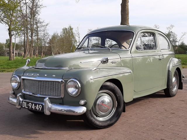 VOLVO PV544  Autobedrijf van de Bunt, Zwartebroek