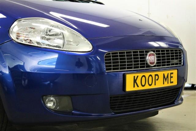 FIAT GRANDE PUNTO 1.4 TURBO-JET DYNAMIC LEDER PDC Autobedrijf van der Zee, 3316 AP Dordrecht