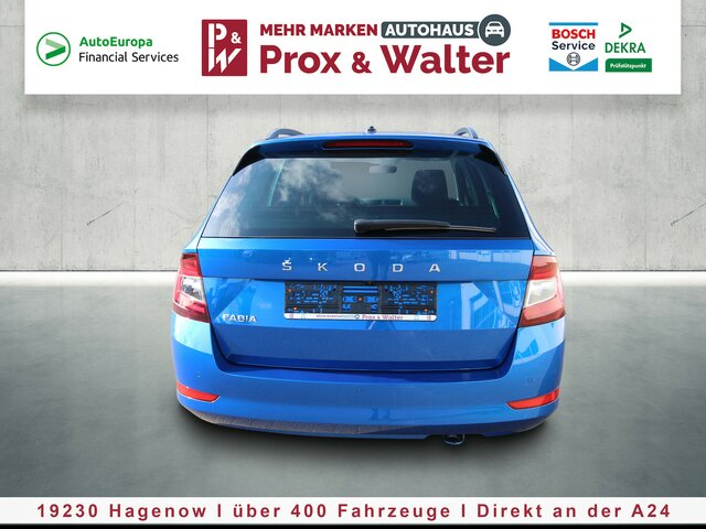 SKODA FABIA Combi 1.0 TSI 7-DSG Style Plus KAMERA*LED Autohaus Prox & Walter, D-19230 Hagenow