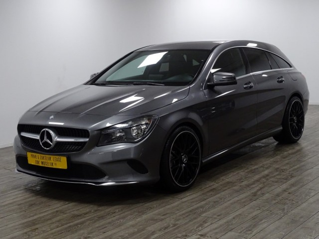 Mercedes-benz Cla-klasse 180 d shooting brake lease edition foto 8